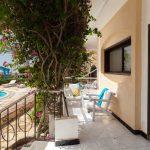 Coral Beach Hotel Terrasse